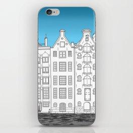 Dancing houses, Amsterdam iPhone Skin