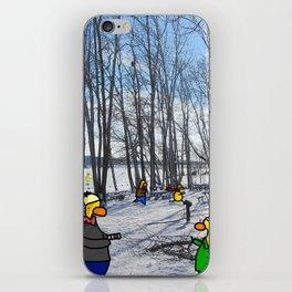 Peaceful Winter iPhone Skin