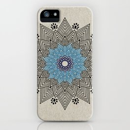 Digital Mandala #5 iPhone Case