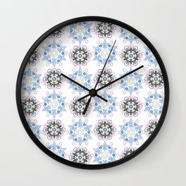 Eastern ornament. Wall Clock