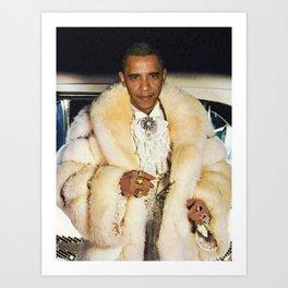 Fabulous Obama Art Print