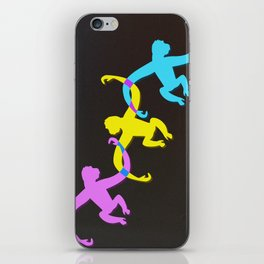 Color Monkeys iPhone Skin