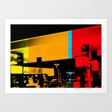 Aberration Station Art Print