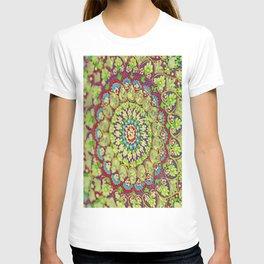 Mandala on copper plate 4 T-shirt