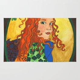 Goddess Brigid Rug