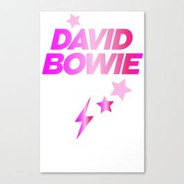 Glam Rock Bowie Canvas Print
