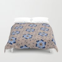 kevin russ Duvet Covers featuring Kevin Lumsey Tessellation by Feene