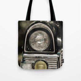closeup of classic luxury car Tote Bag