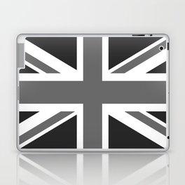 UK Flag, High Quality 1:2 Grayscale Laptop & iPad Skin