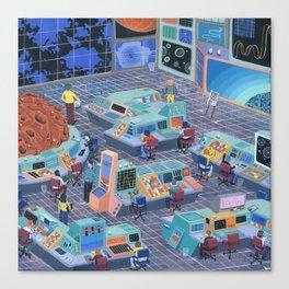 Command Center Canvas Print