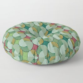 Geometric patterns in interior design and decoration Floor Pillow