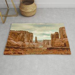 Utah - Red Sandstone Spires Rug