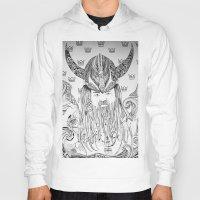 viking Hoodies featuring Viking by Infra_milk