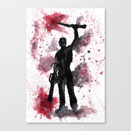 ARMY OF DARKNESS - Boom Stick - Original Watercolor Art Print Canvas Print