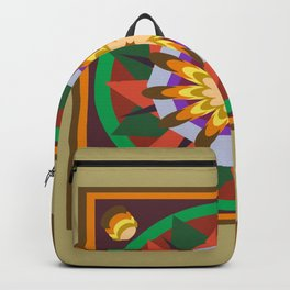 whell mandala Backpack