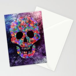 Happy skull Stationery Cards