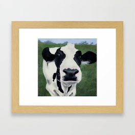 Betsy the Cow Framed Art Print
