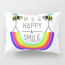 BEE HAPPY & SMILE Pillow Sham