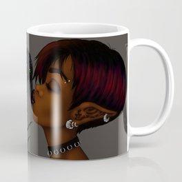 Kissing Crow Coffee Mug