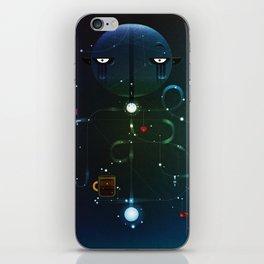Self Portrait: Raid Boss, Coffee and Constellations iPhone Skin