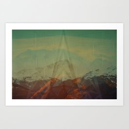 Untitled (Mont Pourri) Art Print