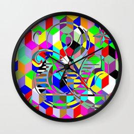 Retro Eve Wall Clock