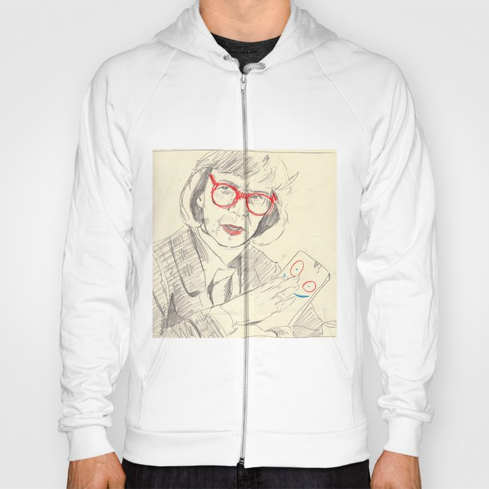 log lady with plank Hoody
