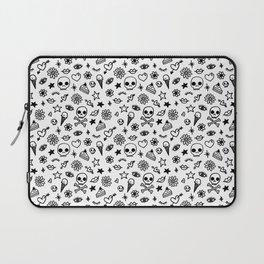 Doodle Pattern Laptop Sleeve