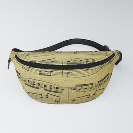 Notes on Gold One Solace Fanny Pack