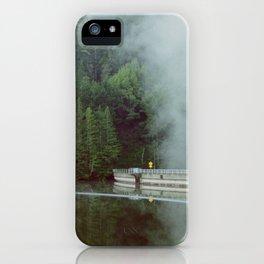 Misty Lake - 35mm Film iPhone Case