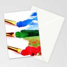 PAINT LANDSCAPE  Stationery Cards