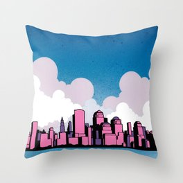 Getting Married In New York Throw Pillow