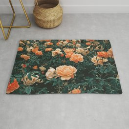 Forest of Roses Rug