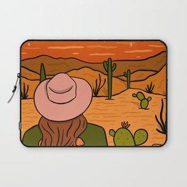 Desert Girl Laptop Sleeve