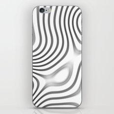 Organic Abstract 01 WHITE iPhone & iPod Skin