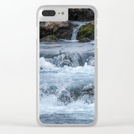 Rapids By Highway Clear iPhone Case