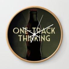 Message in a Bottle - Cassandre Spirit Wall Clock