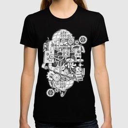 DINNER TIME FOR THE ROBOT T-shirt