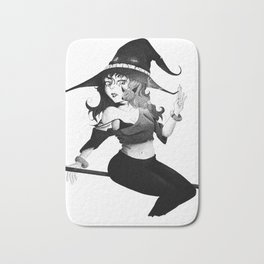 The Witch Pen and Ink Bath Mat