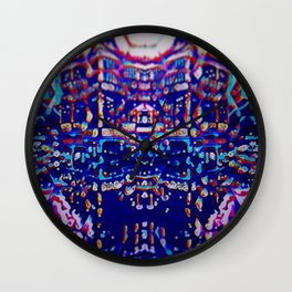 Sacred place Wall Clock