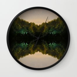 Perfect Reflection Wall Clock
