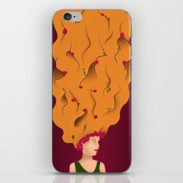 Ginger friend iPhone Skin