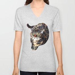 Kitty Cat Chili Unisex V-Neck