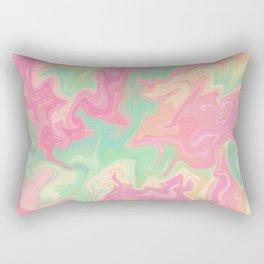 Marble effect Rectangular Pillow