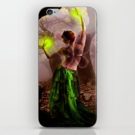 Dance of the lonely Fairy iPhone Skin