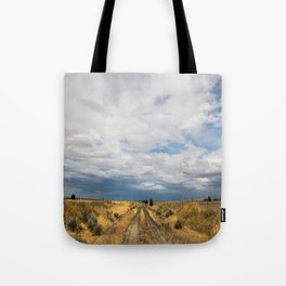 Dusty Road Tote Bag