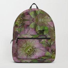 HELLEBORES FLOWERS Backpack
