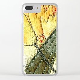 Tulips in yellow Clear iPhone Case