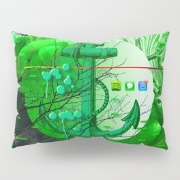 Rejected < The NO Series (Green) Pillow Sham