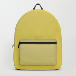 Yellow-Green and Yellow Gradient Blend Pantone 2021 Color of the Year Illuminating 13-0647  Backpack